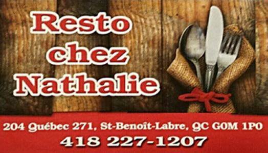 Resto Chez Nathalie - Saint-Benoit-Labre, QC G0M 1P0 - (418)227-1207   ShowMeLocal.com
