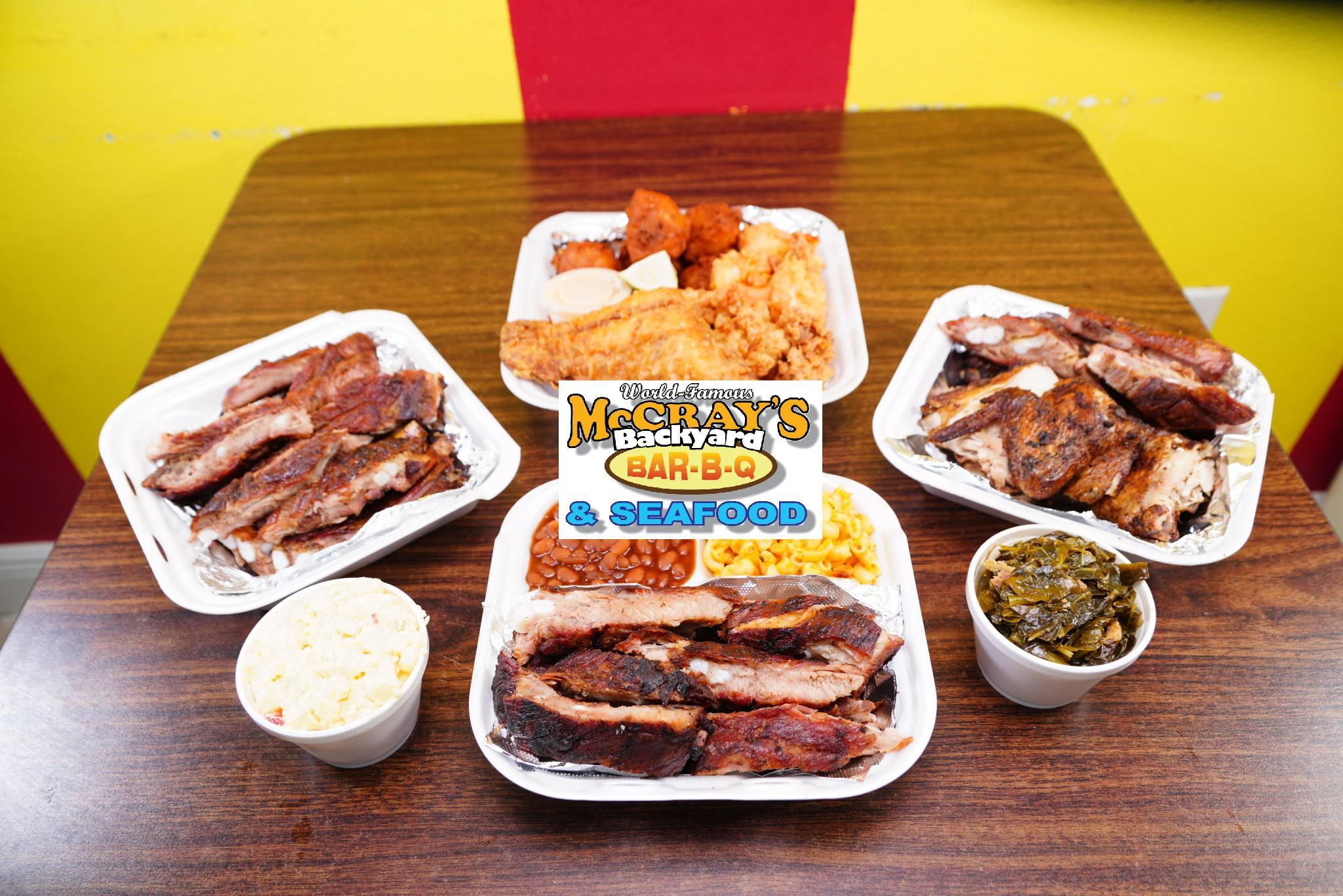 McCray's Backyard BBQ & Seafood