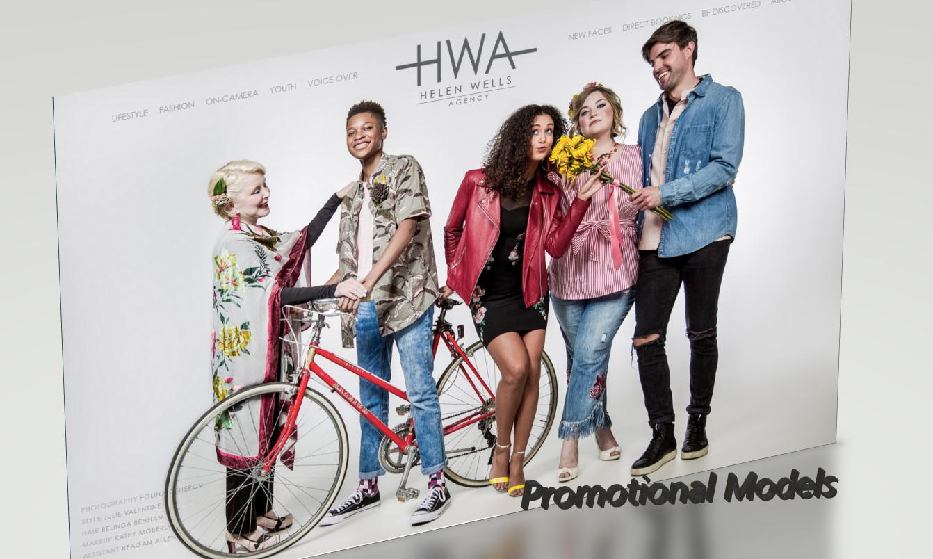 Promotional Models #promotionalmodels