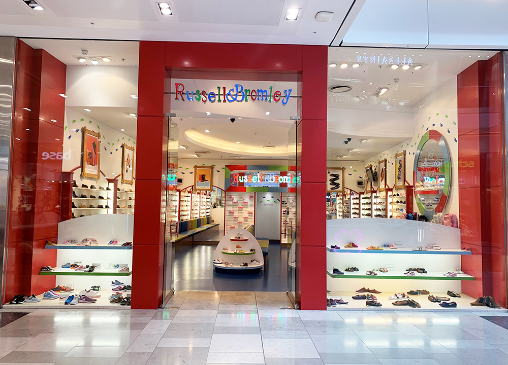 Russell & Bromley Ltd. Children's Shop