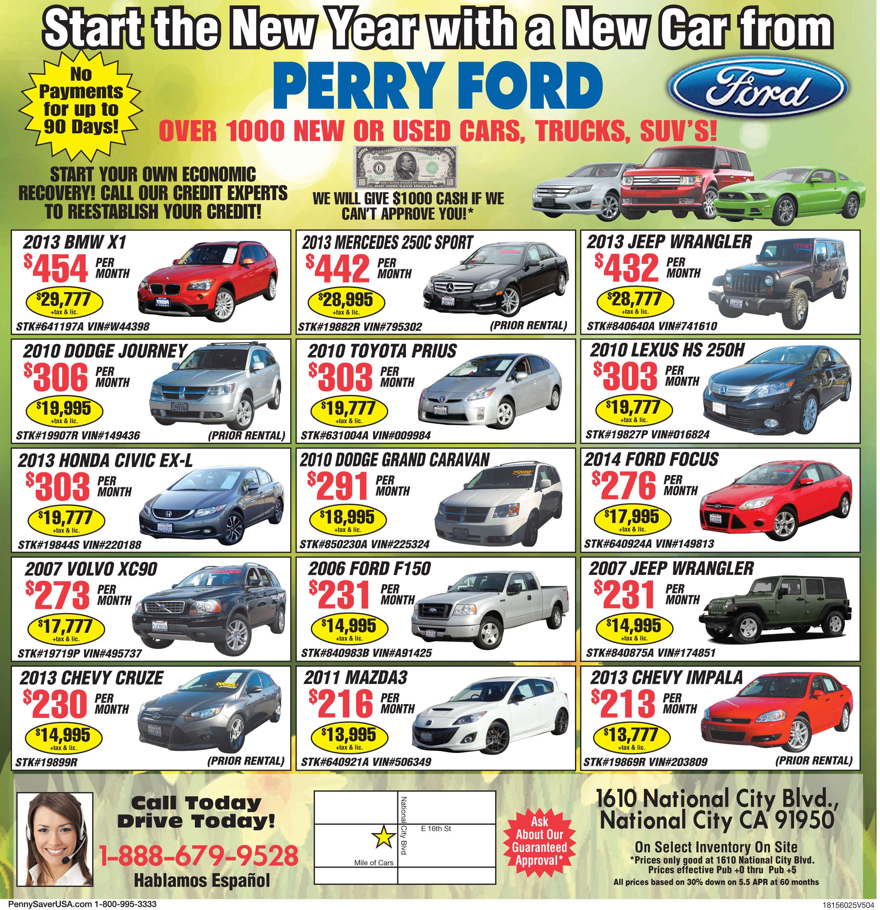 Perry Ford Used Car Supercenter