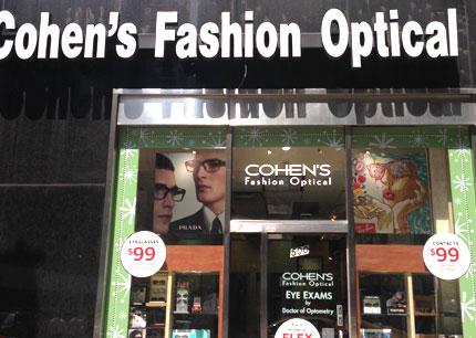 Cohen S Fashion Optical Help