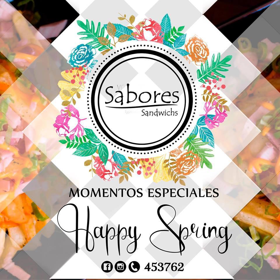 SABORES SANDWICH