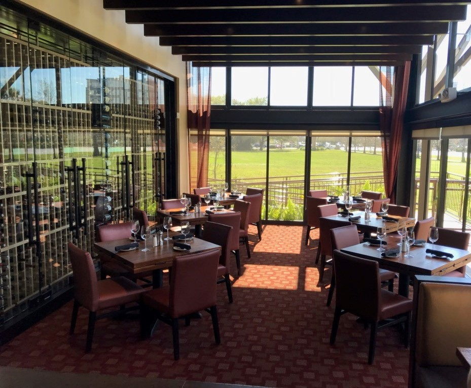 Del Frisco's Grille Tampa Semi-Private group dining room
