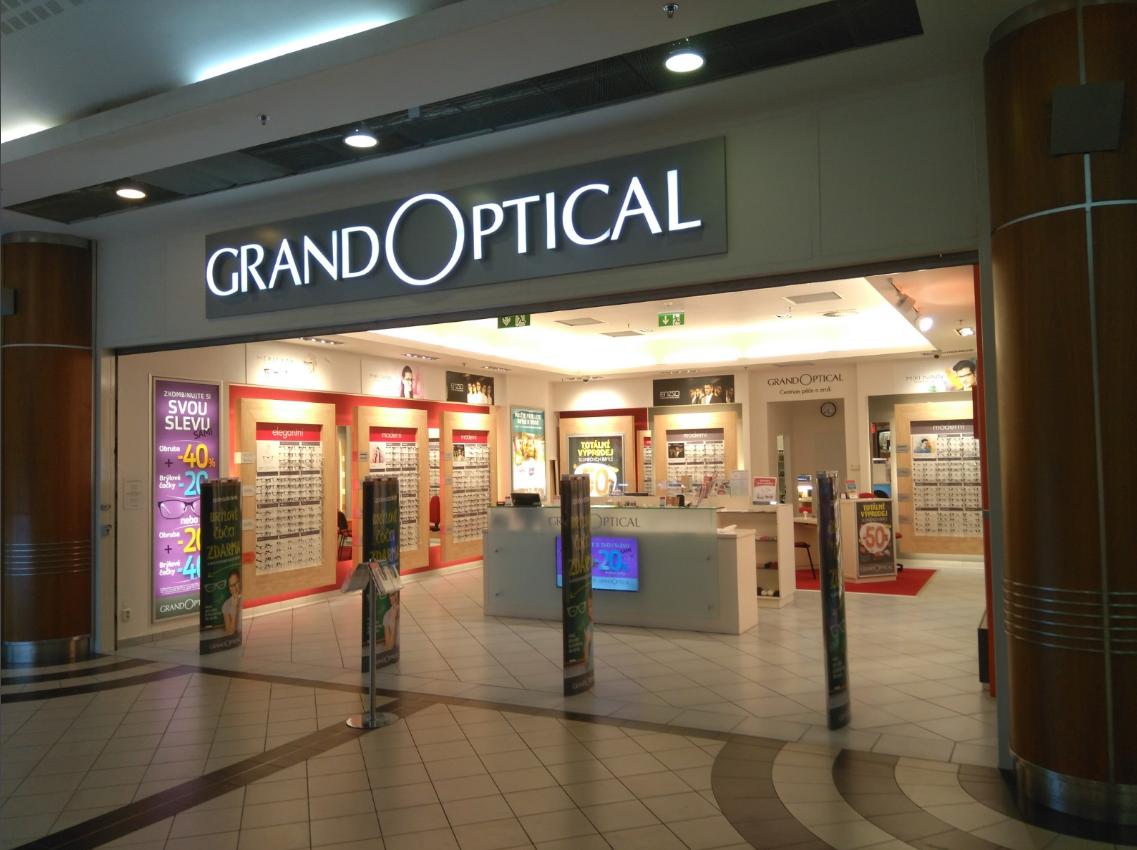 GrandOptical - oční optika Galerie Fénix