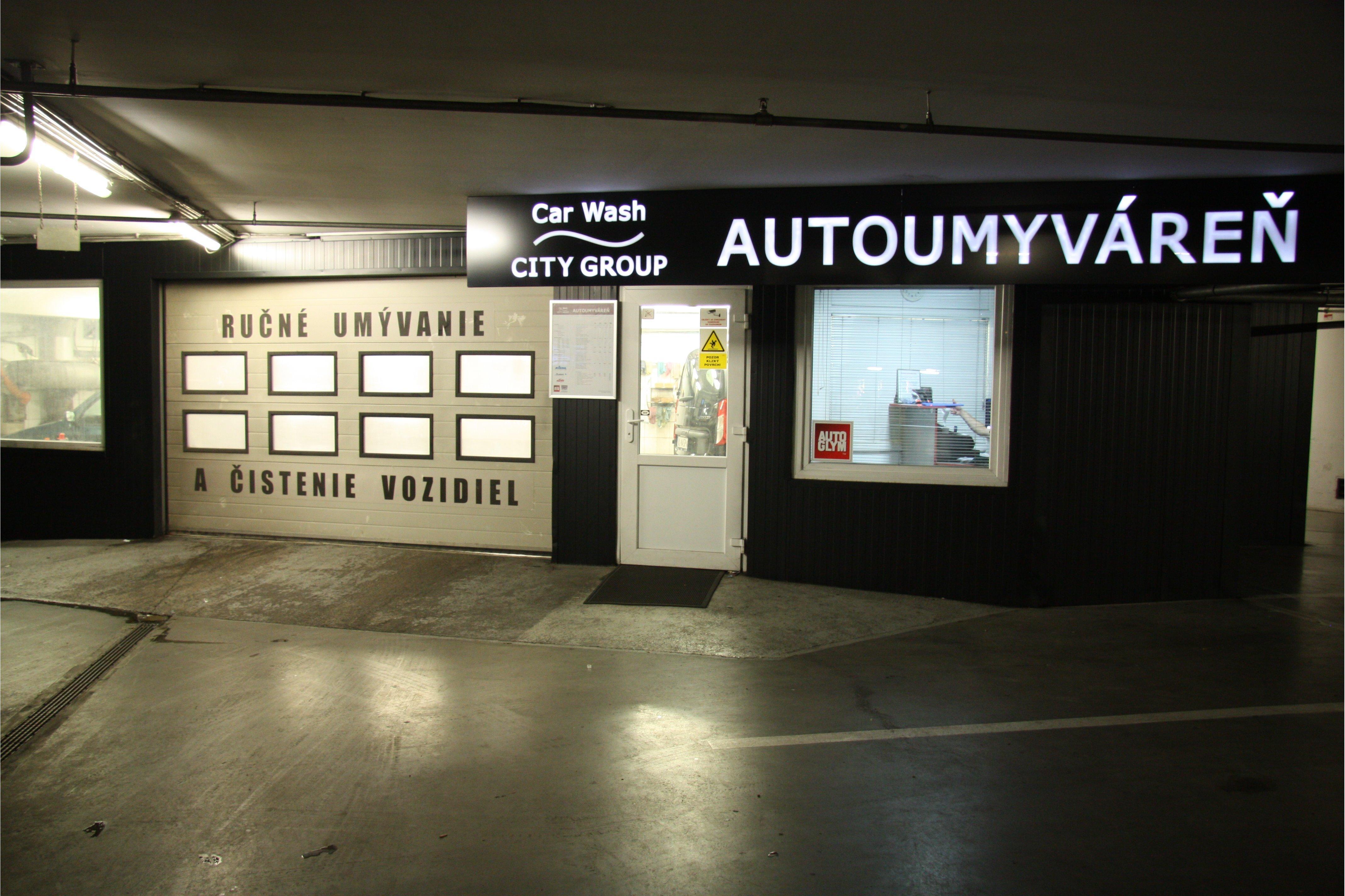 CAR WASH CITY GROUP AUTOUMYVÁREŇ, Polus City Center Bratislava
