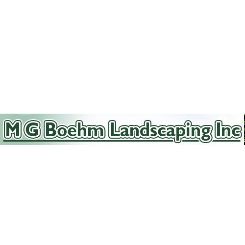 M G Boehm Landscaping - Mc Donald, PA - Landscape Architects & Design