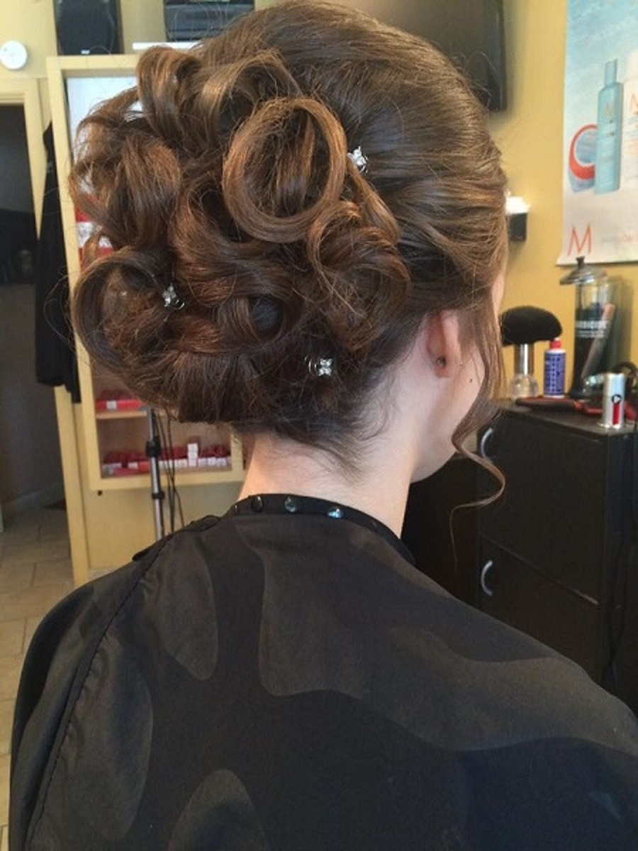 Shear Envy Hair Salon in Hamilton: Up-do's and formal.