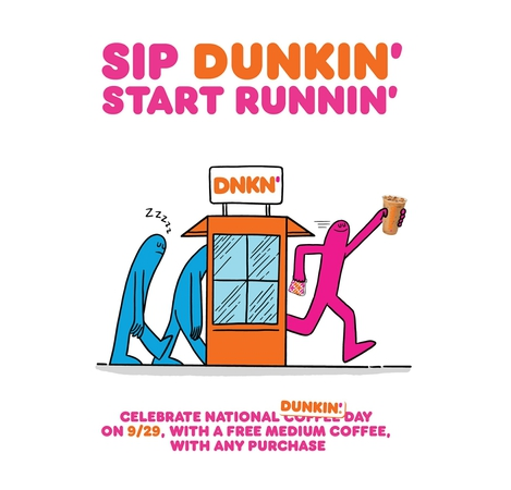 National Dunkin' Day - September 29th