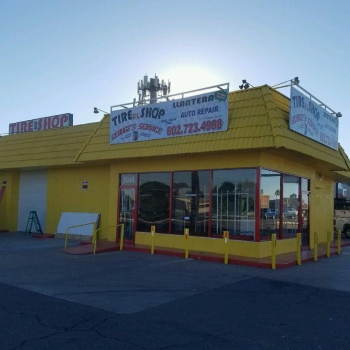 George's tire Shop Phoenix, Az