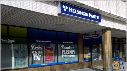 Helsingin Pantti Oy Itäkeskus