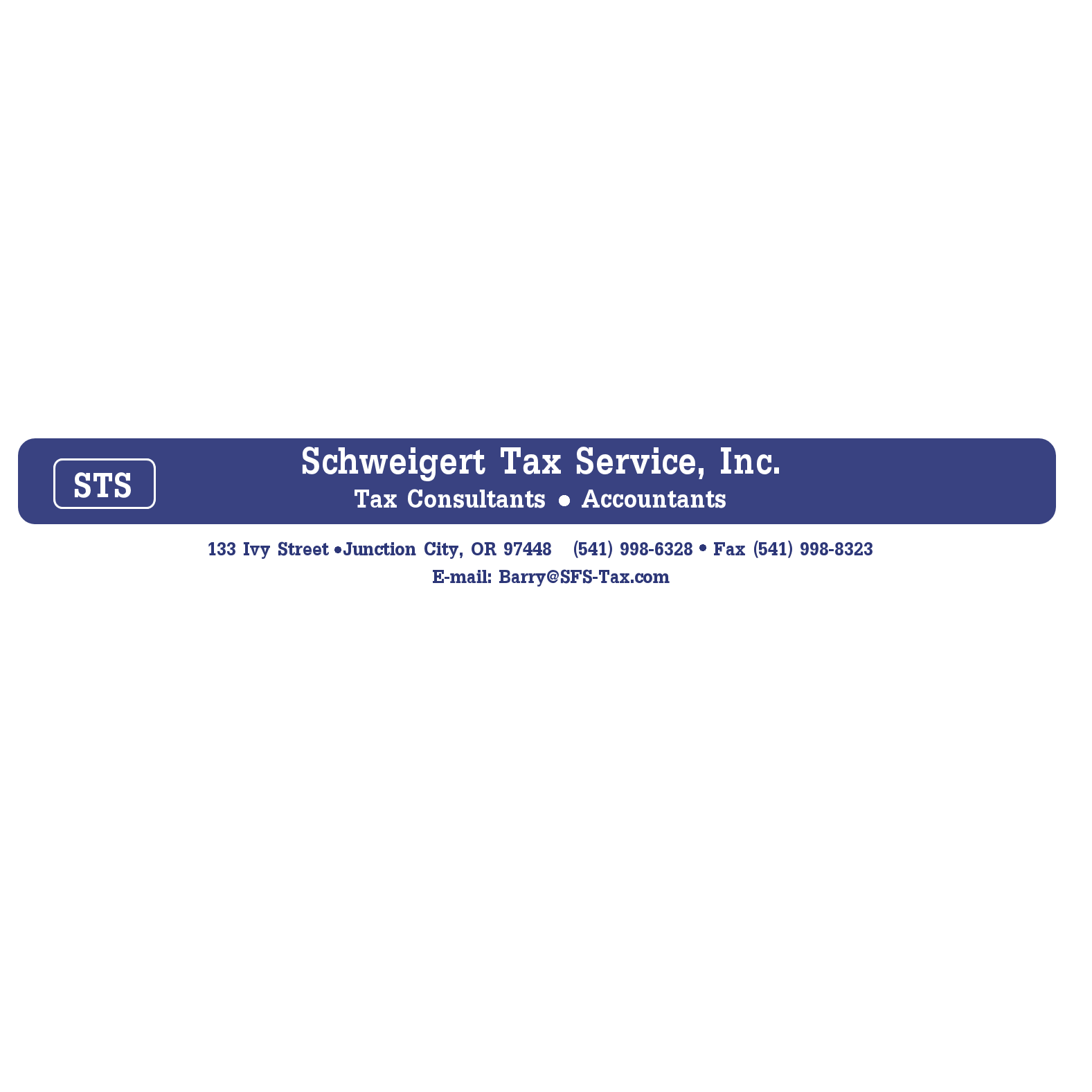 Schweigert Tax Service, Inc. - Junction City, OR - Financial Advisors