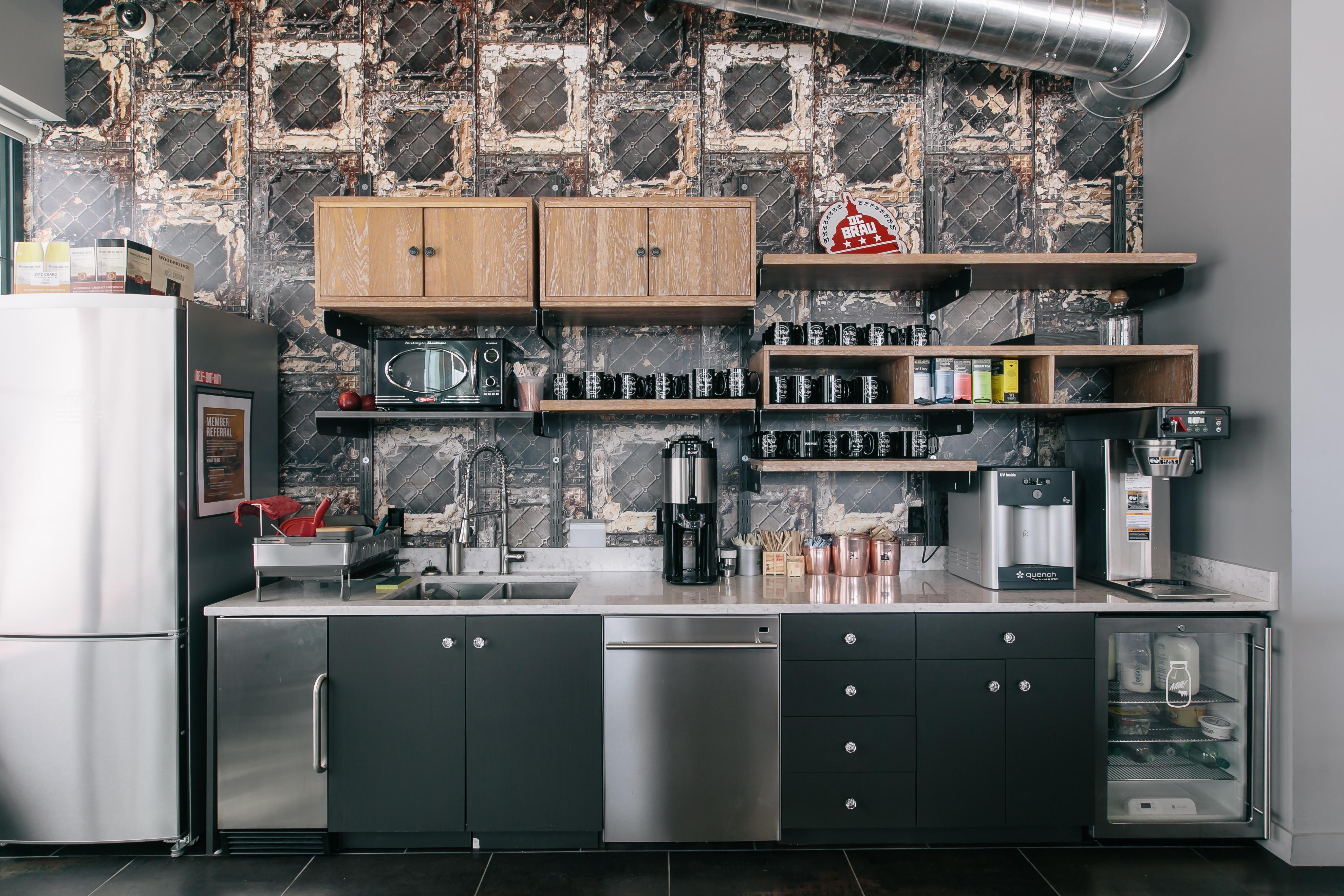 Example shown: Kitchen (Wonder Bread, Washington D.C.) WeWork 33 Queen St London 020 3695 7895