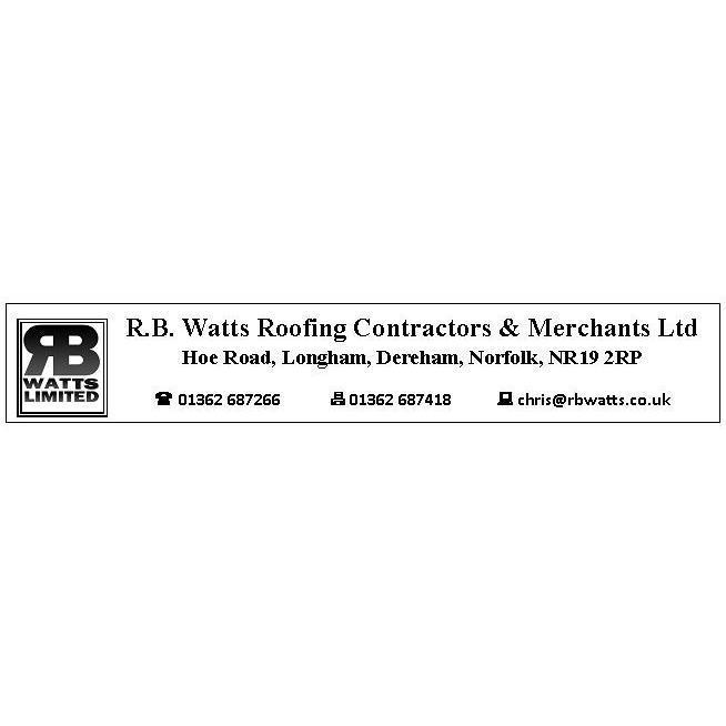 R B Watts Roofing Contractors & Merchants Ltd - Dereham, Norfolk NR19 2RP - 01362 687266   ShowMeLocal.com
