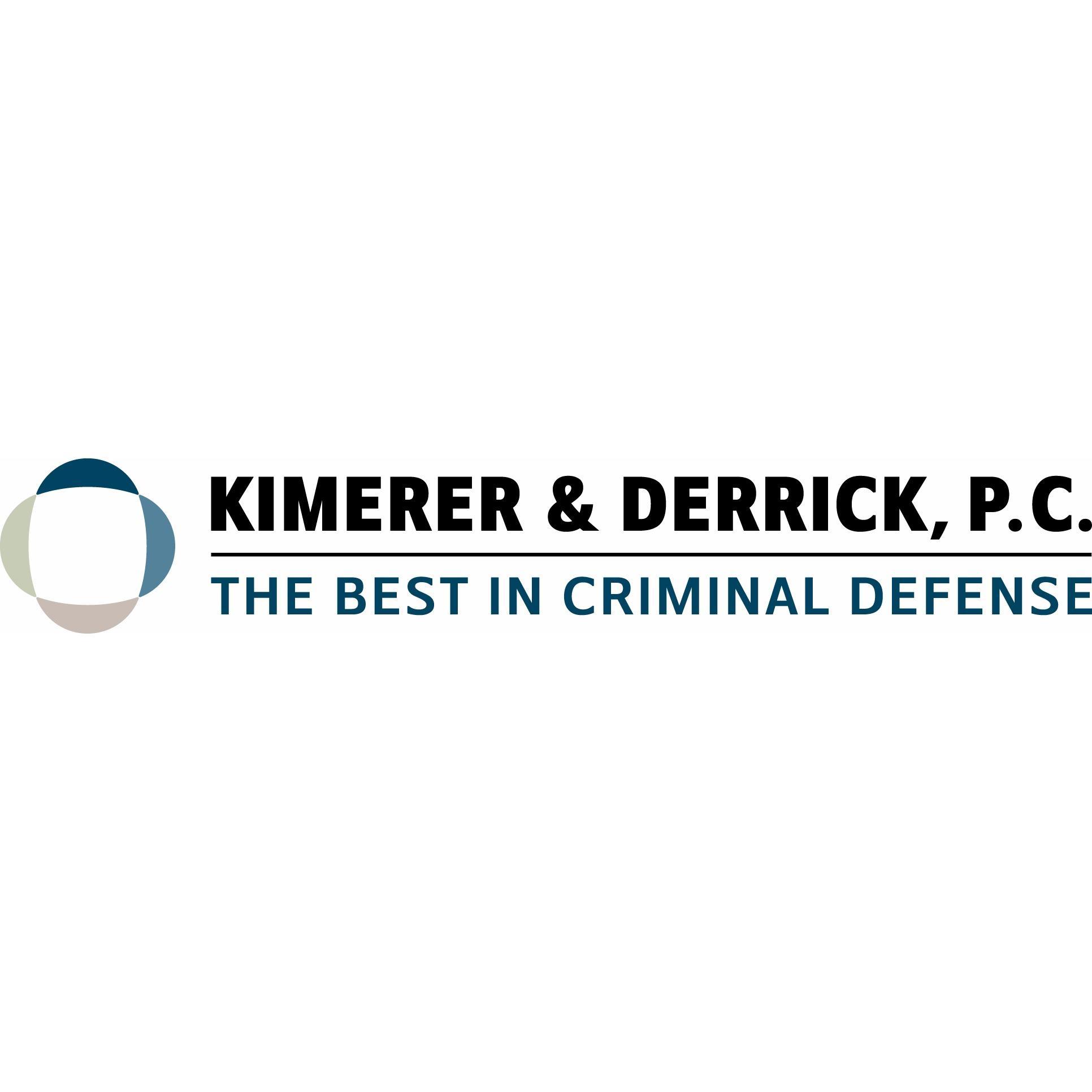Kimerer & Derrick