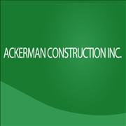 Ackerman Construction Inc. - ad image