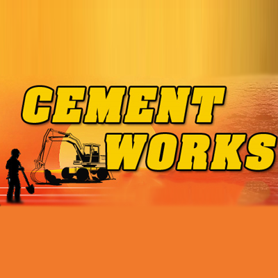 Cement Works & Backhoe