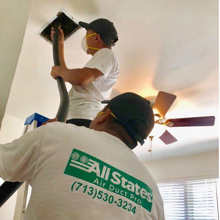 Air Duct Cleaning Service in TX Houston 77063 All States Air Duct Pro 2630 Tanglewilde St #222  (713)530-3234
