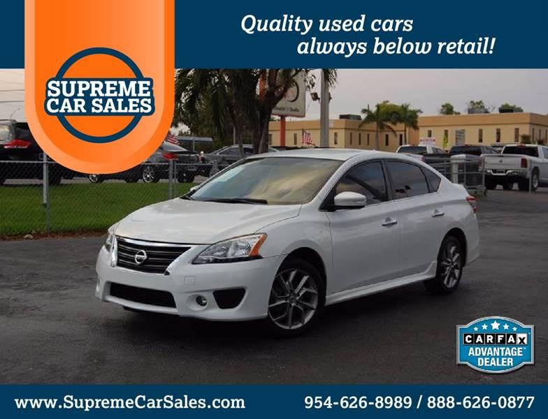 Supreme Car Sales Oakland Park Fl