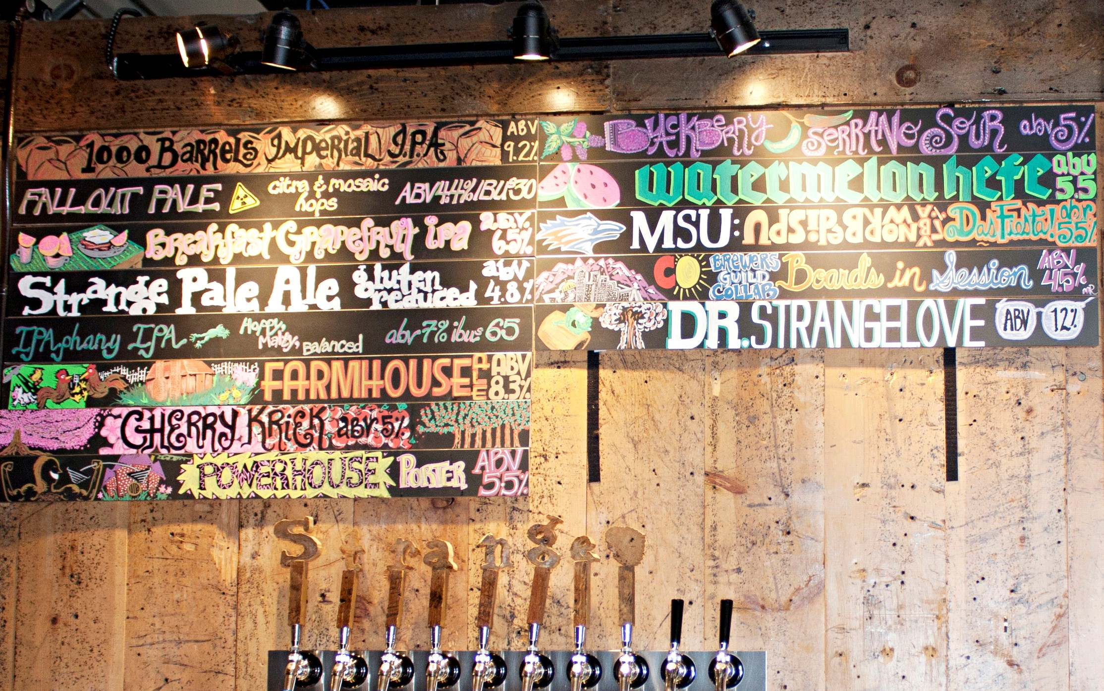 Strange craft beer company denver colorado for Strange craft beer company