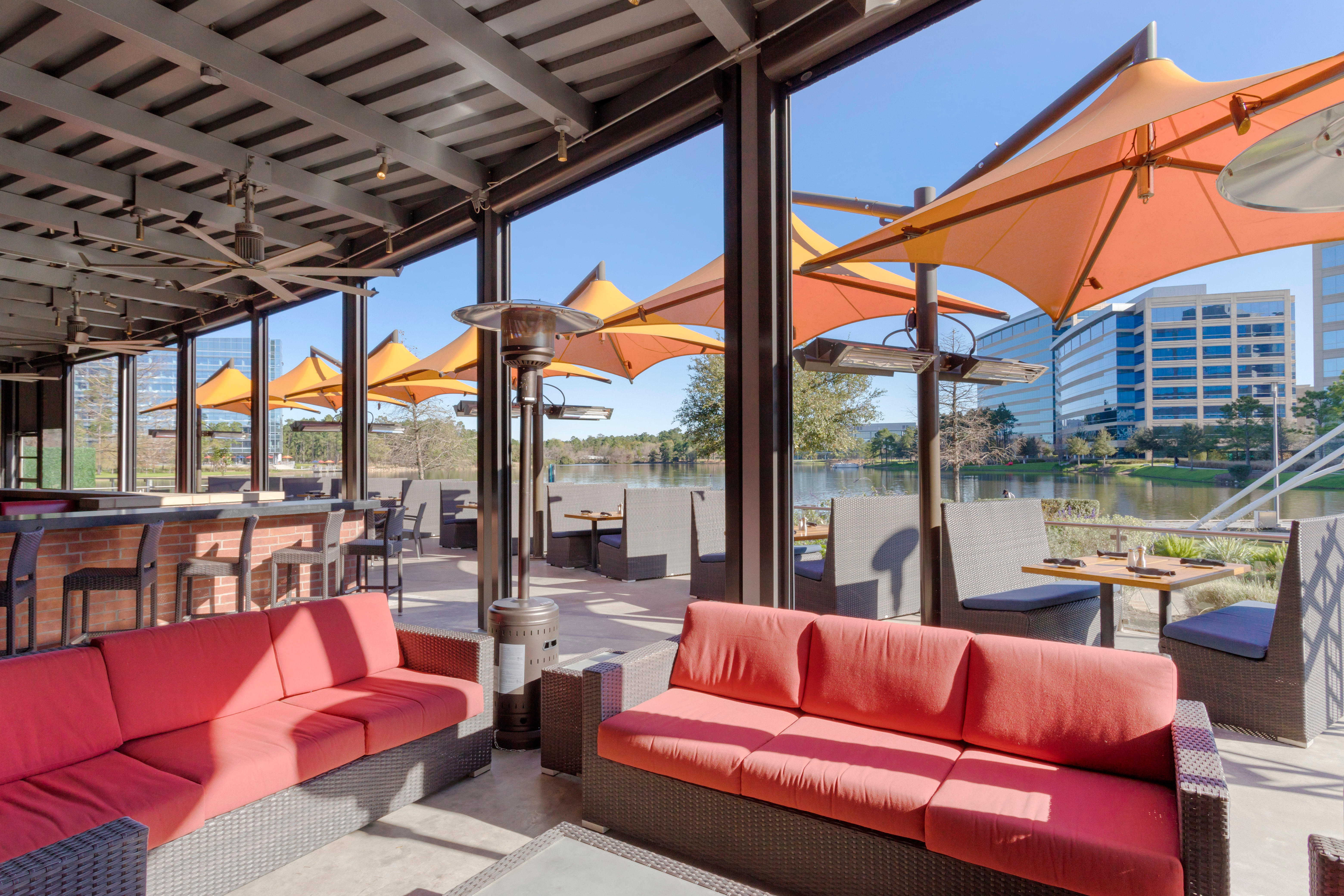 Del Frisco's Grille The Woodlands VIP Patio group dining room