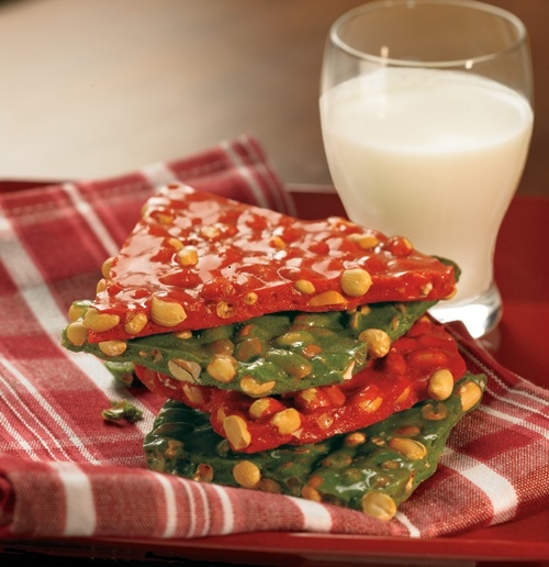 Jalapeno or Habanero Peanut Brittle - How hot do you want it?  Try the brittle with a spicy Texas twist.