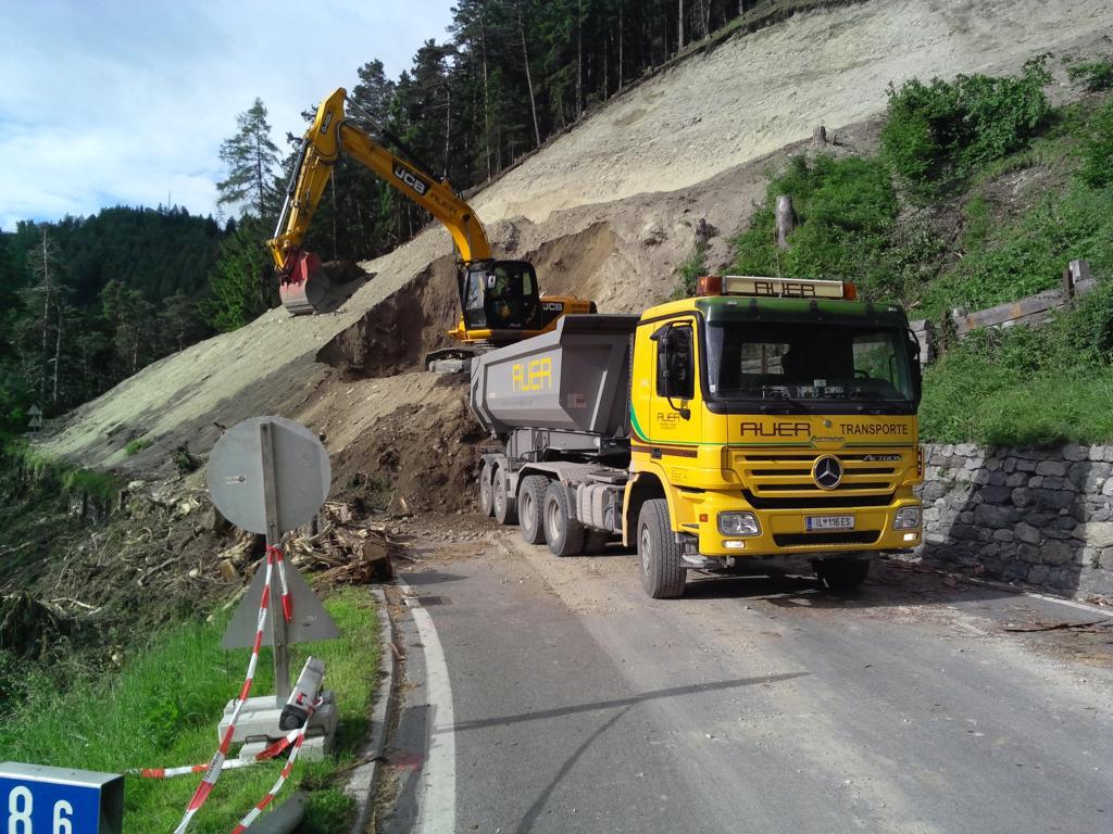 Auer GmbH Transporte - Erdbau