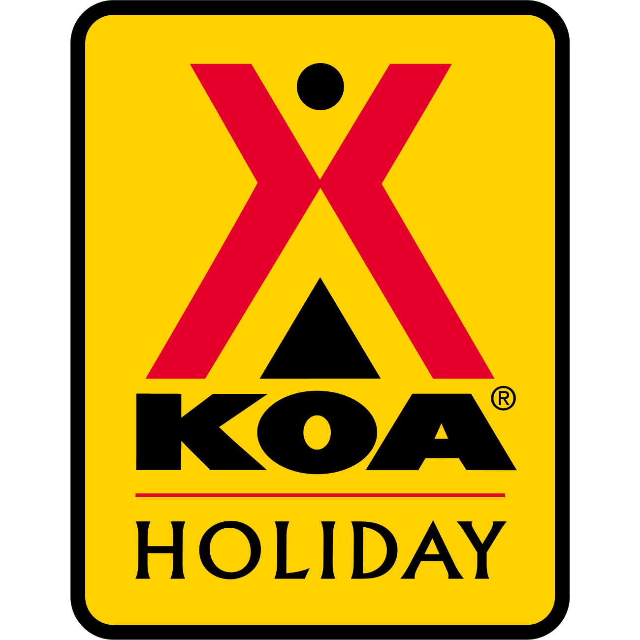 Barrie KOA Holiday Logo