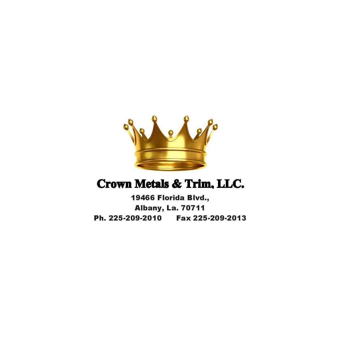 Crown Metals and Trim - Albany, LA - Metal Welding