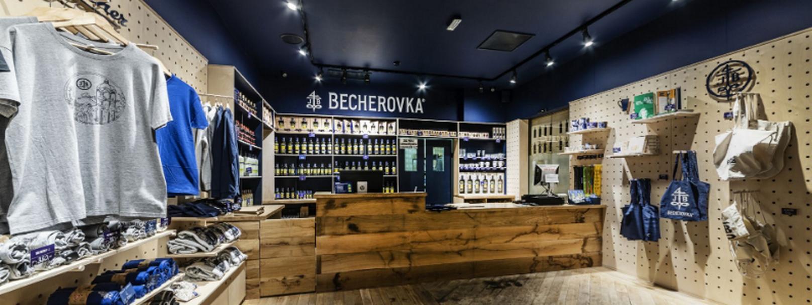 Jan Becher - Karlovarská Becherovka, a.s. - Návštěvnické centrum Becherovka