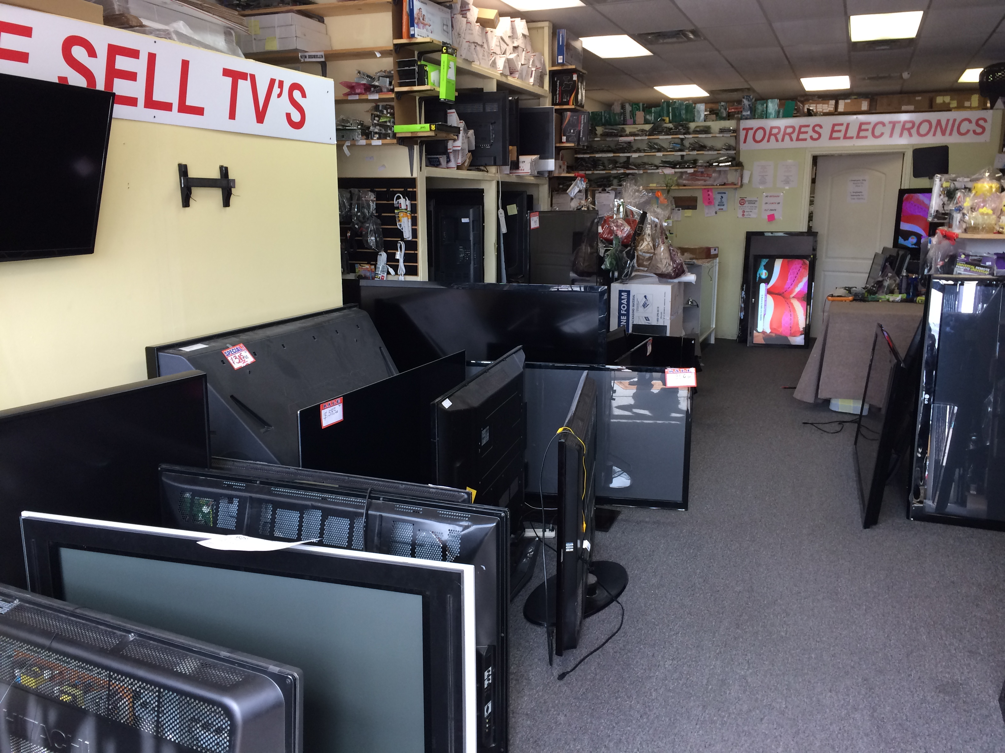 TORRES ELECTRONICS TV REPAIR AND PARTS, Houston Texas (TX ...