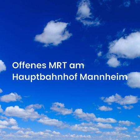 Bild zu Offenes MRT am Hauptbahnhof Mannheim in Mannheim