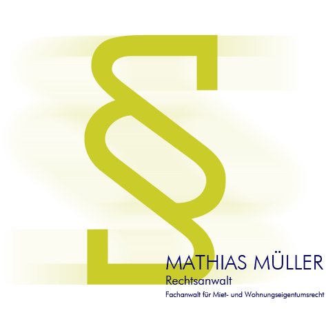 Rechtsanwalt Mathias Müller