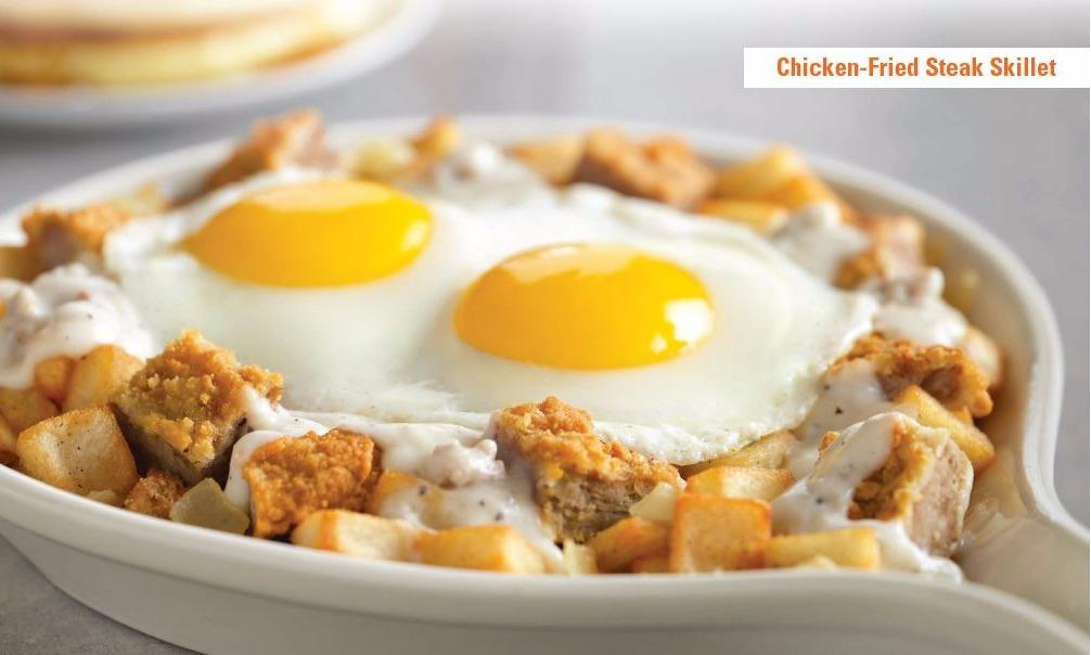 Chicken-Fried Steak Skillet from the Skillet Experts