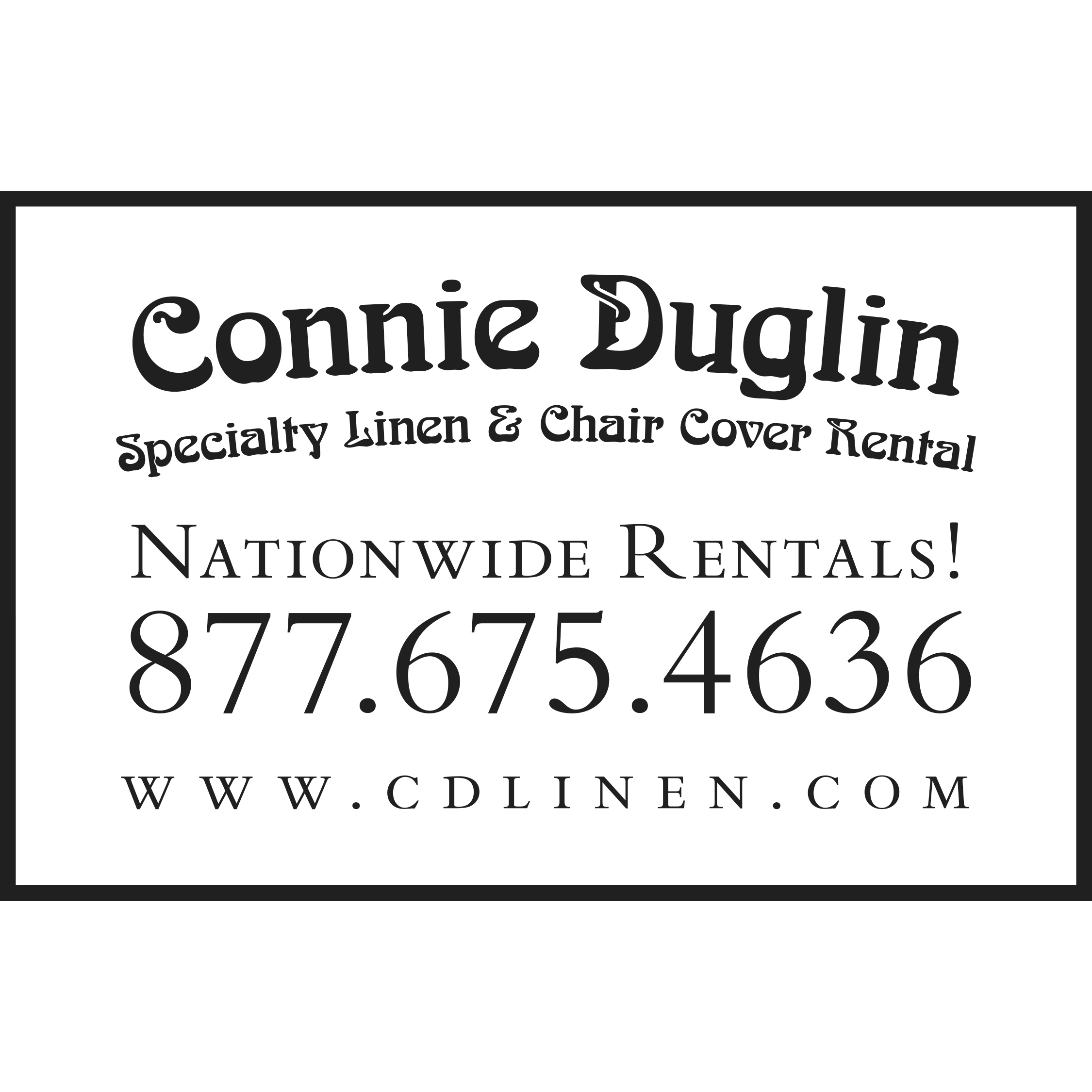 Connie Duglin Linen