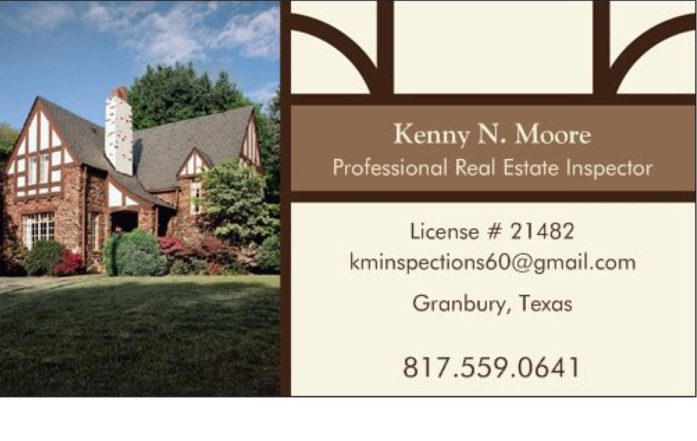Kenny N. Moore Professional Real Estate Inspector