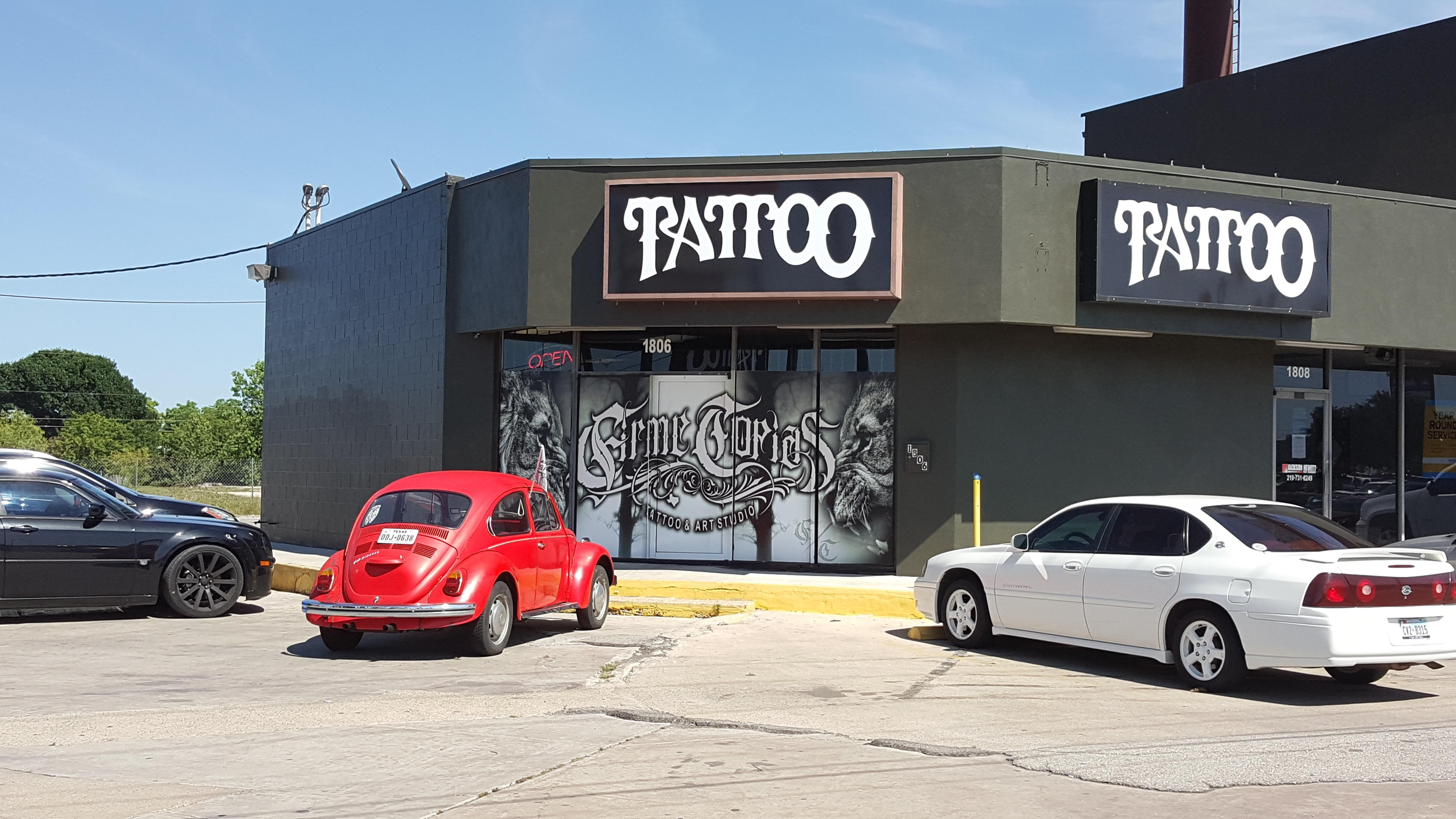 Firme copias tattoo studio in san antonio tx 78227 for Firme copias tattoo