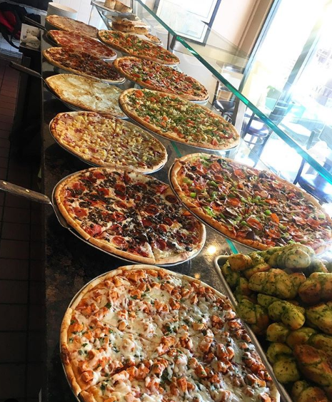 Our pizza chefs make our handcrafted pizza dough and sauces daily on premise. Call us and order for pickup: (949) 289-0560
