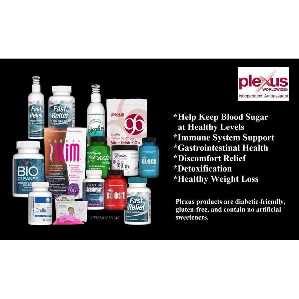 Changing Lives with My Plexus Products