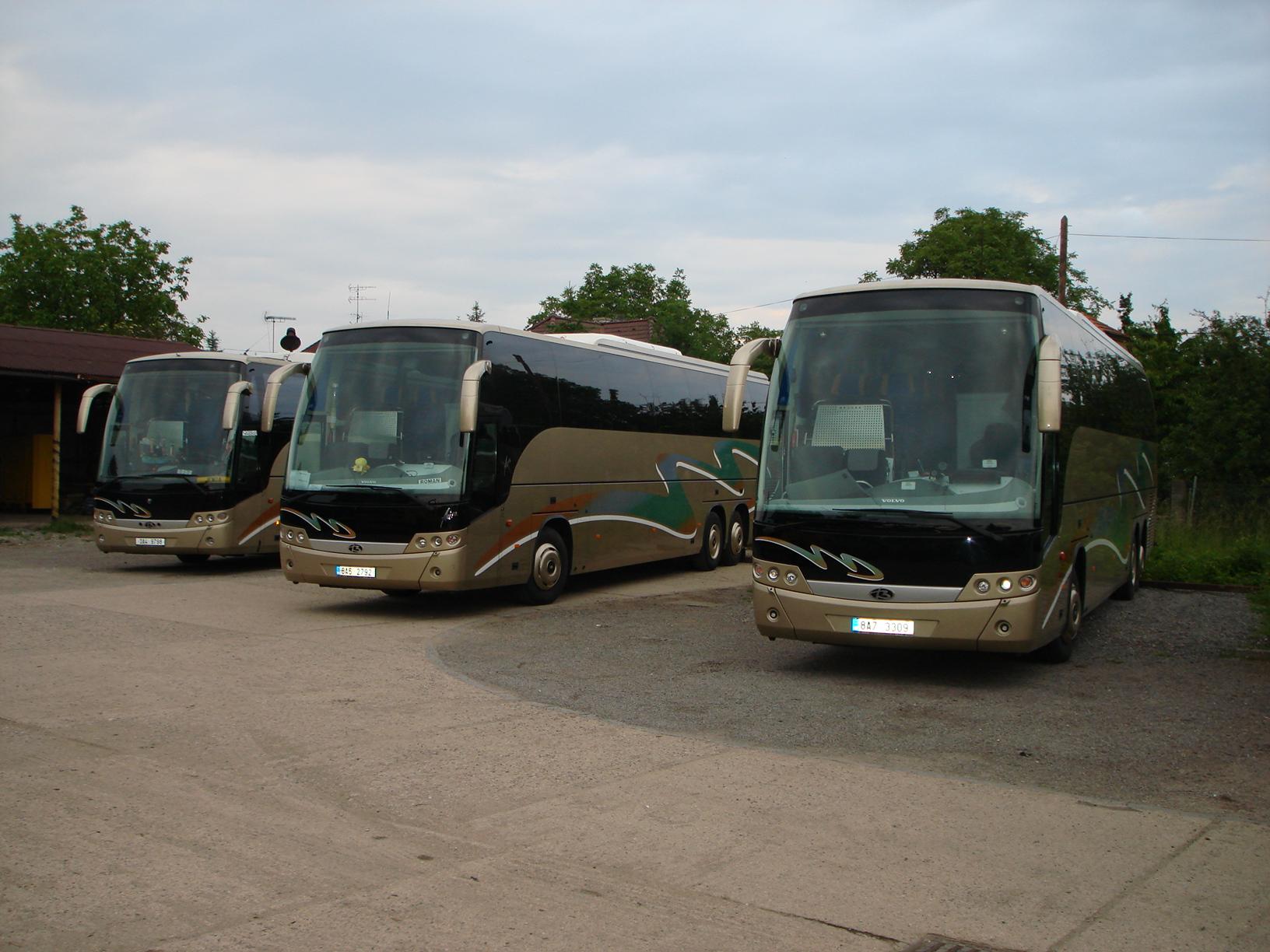 Roman Klegr  autobusová doprava Praha
