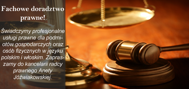 Kancelaria Radcy Prawnego Aneta Jóźwiakowska