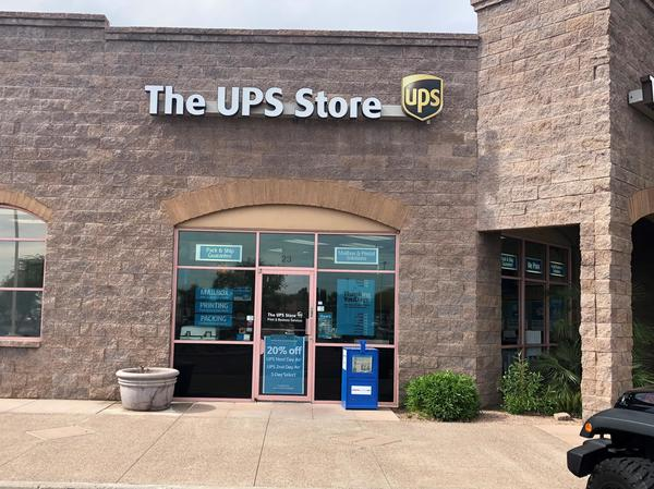 the ups store foothills park place shopping center shipping