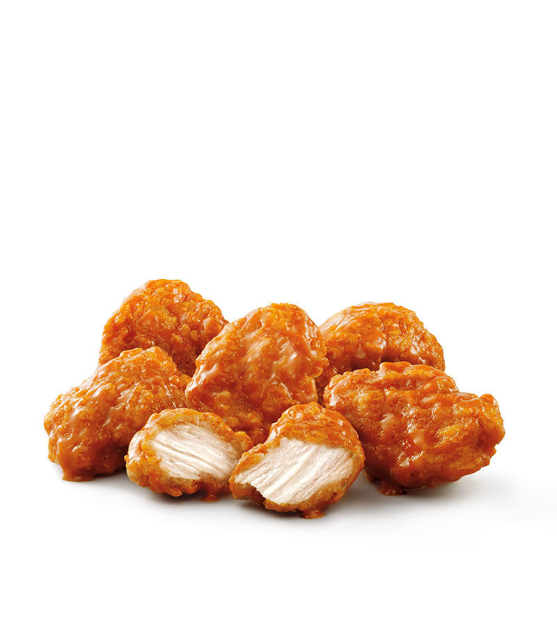 SONIC's Boneless Wings are 100% all white meat chicken with a traditional crispy coating tossed in our returning favorite Buffalo sauce.