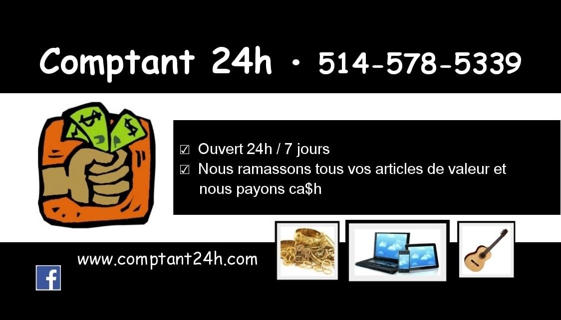 Comptant 24H