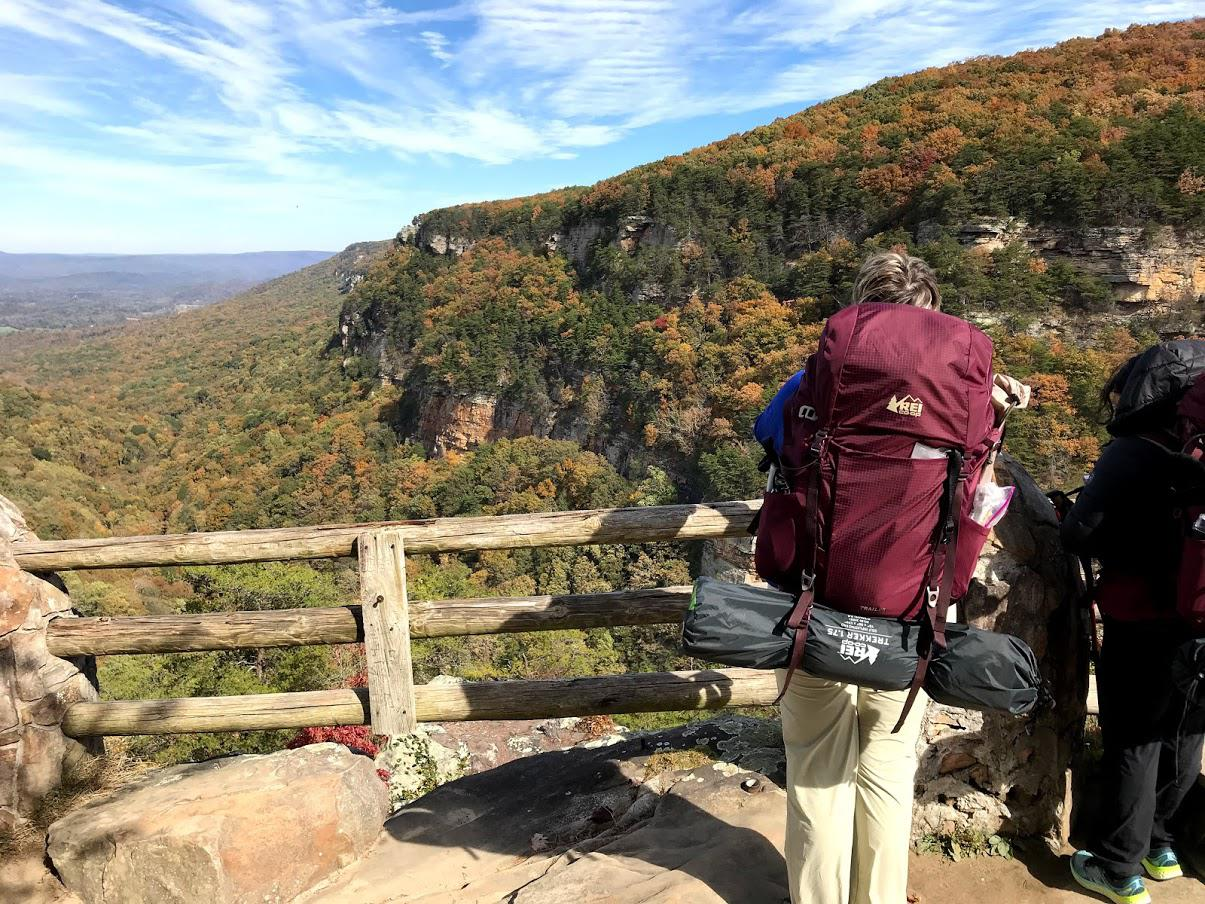 Backpacking Weekend Adventure at Cloudland Canyon State Park