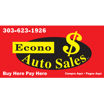 econo auto sales buy here pay here denver coupons near me in denver 8coupons. Black Bedroom Furniture Sets. Home Design Ideas