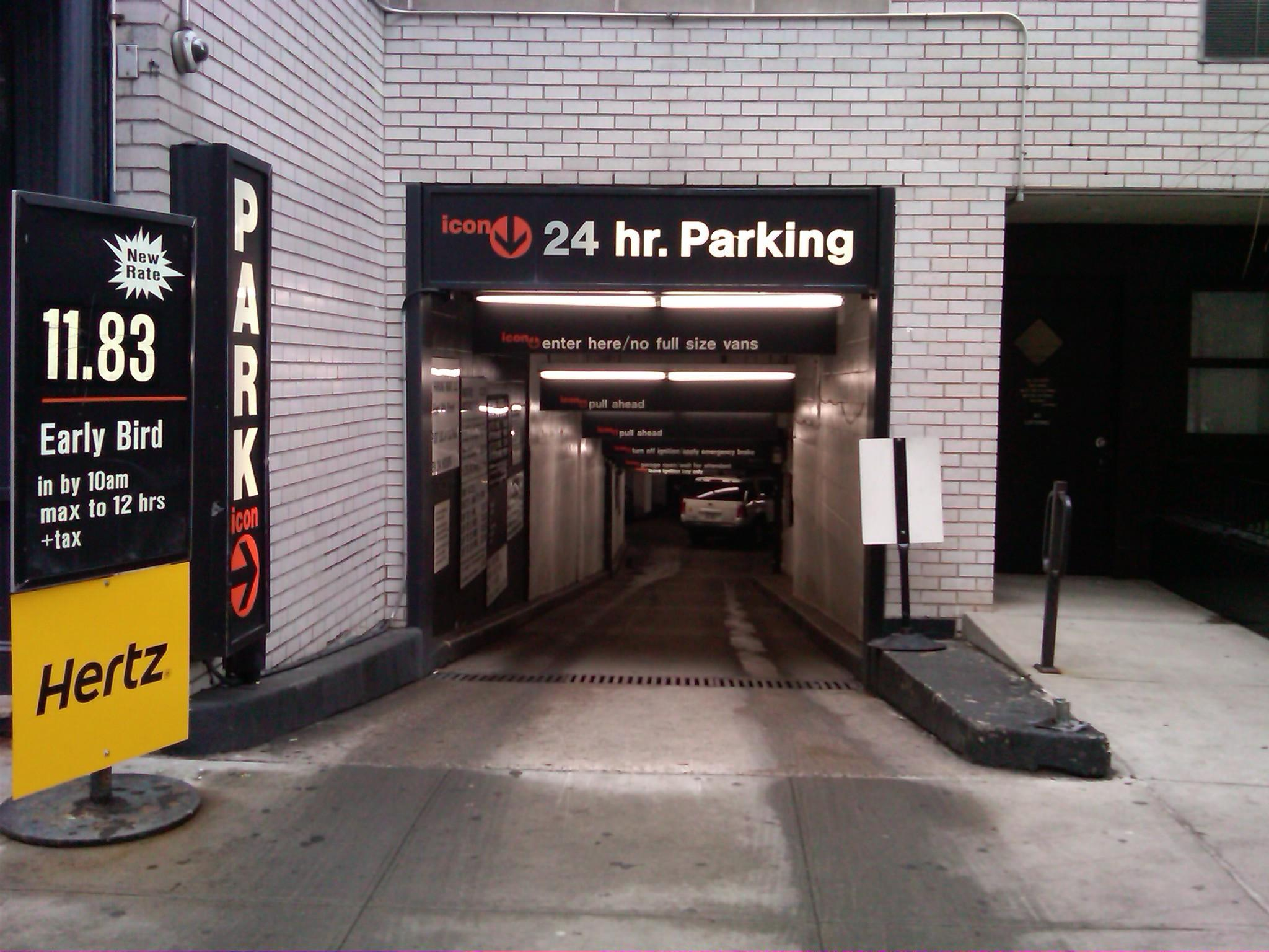 New york parking garage coupons
