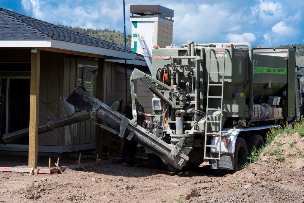 V Works Mobile Mix Concrete And Excavating Bend Oregon