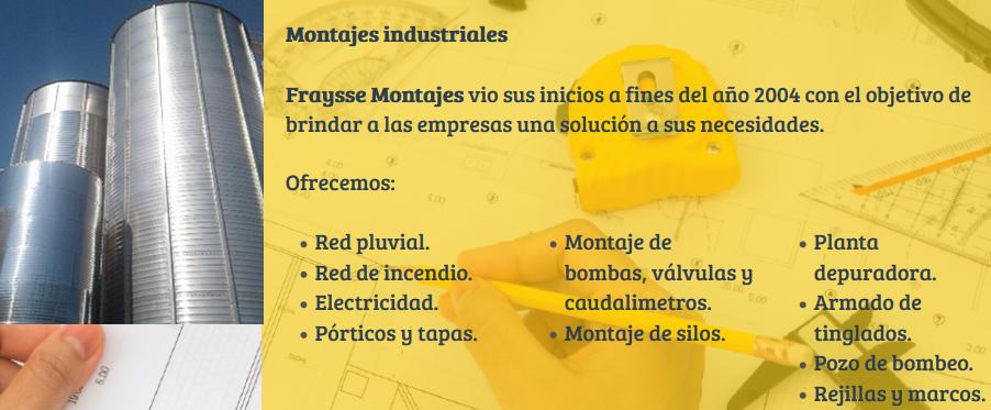 FRAYSSE CONSTRUCCIONES DE ALICIA SUSANA ESPESO