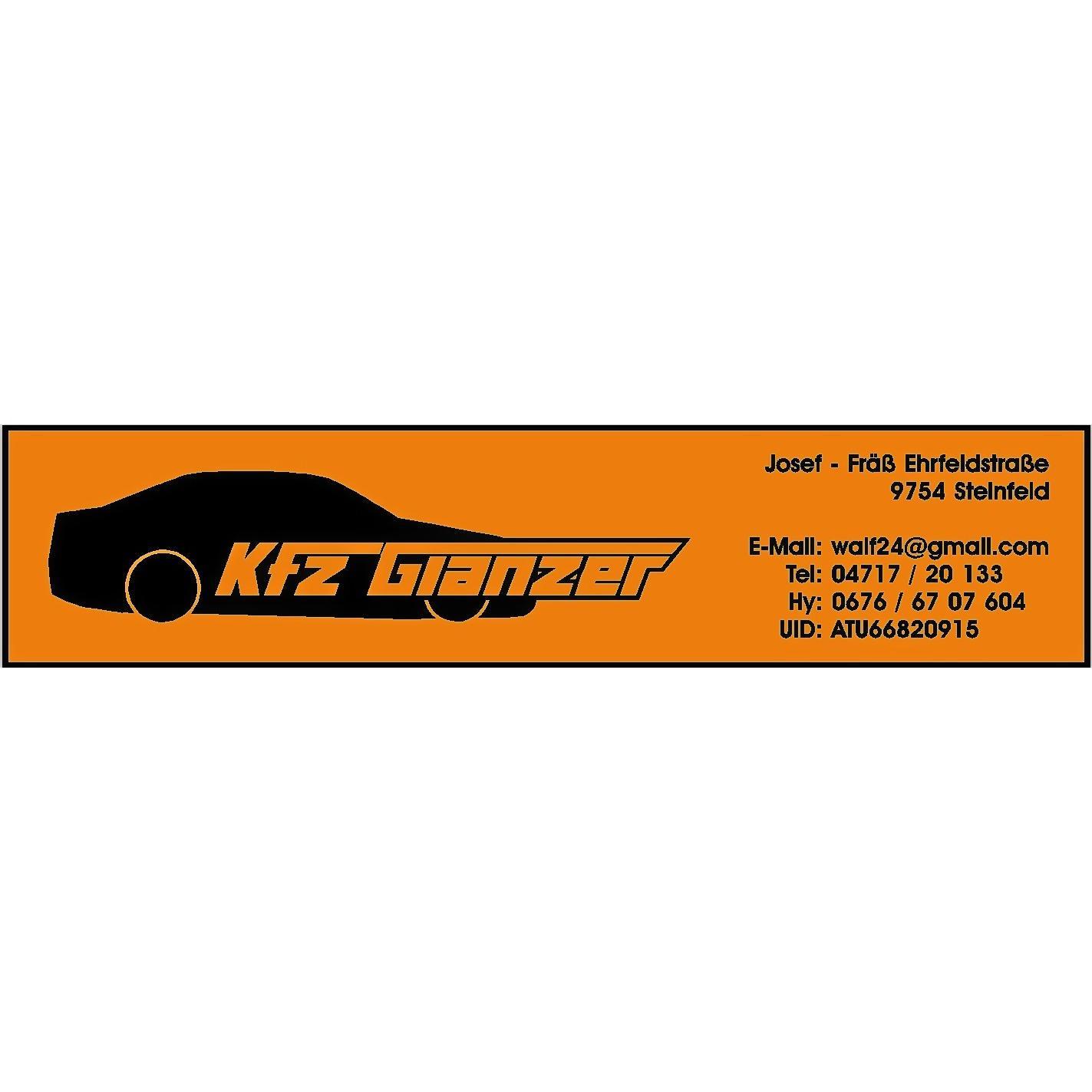 KFZ Glanzer Logo